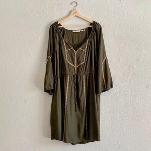Anthropologie Edme & Esyllte Embroidered Dress
